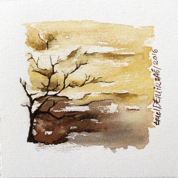 354x354 Shop Minimalist Landscape Paintings On Wanelo