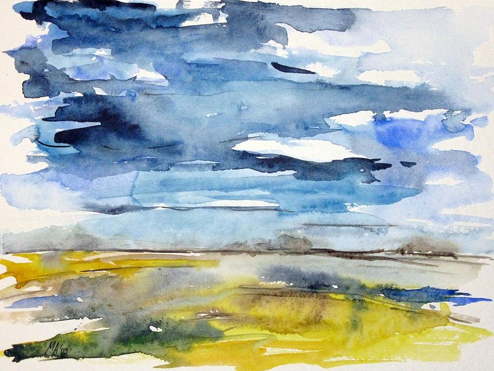 1000x751 Watercolor Landscapes Paintings