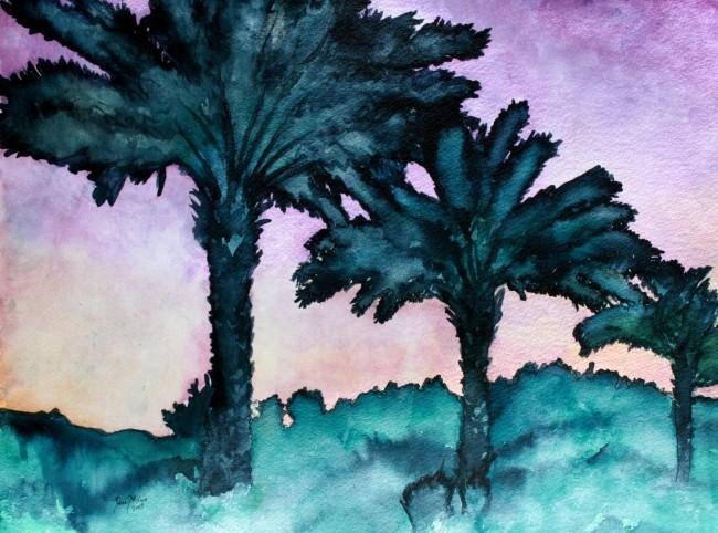 650x482 Watercolor Paintings