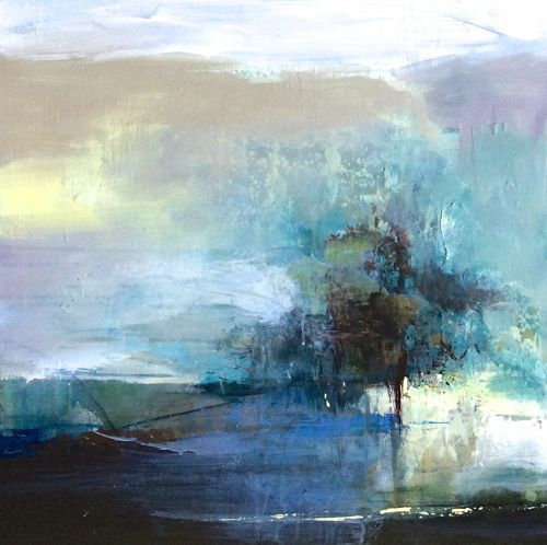 500x498 Abstract Artists International Contemporary Abstract Landscape