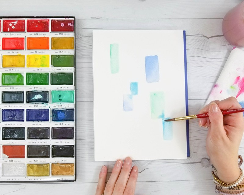 800x640 Easy Abstract Watercolor Painting For Beginners