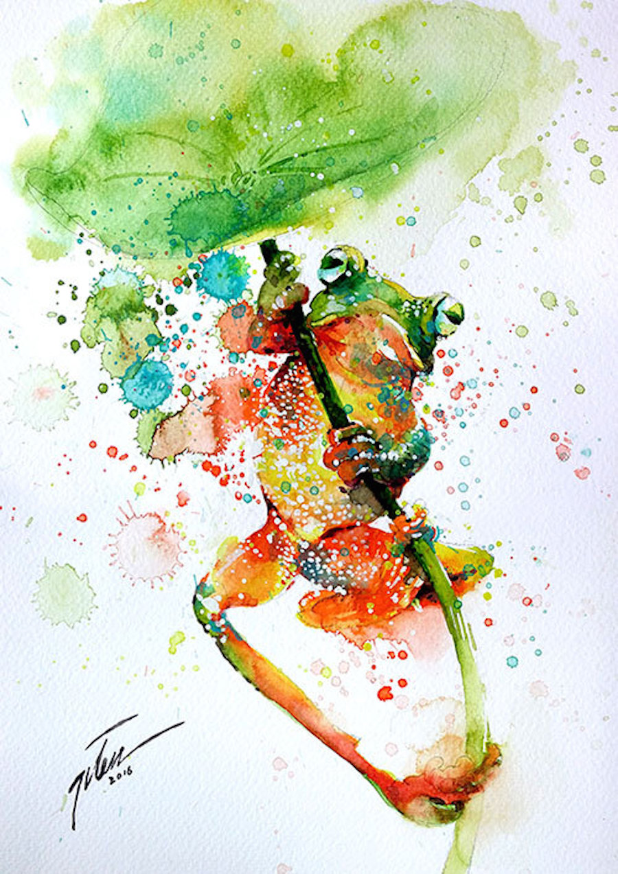 900x1273 Learn The Basic Watercolor Painting Techniques For Beginners