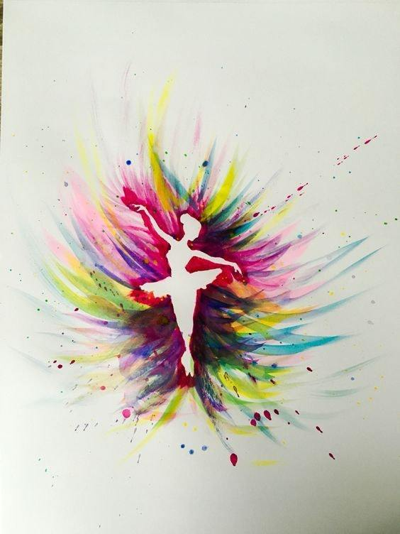 564x752 Watercolor Painting Ideas For Beginners Easy Abstract