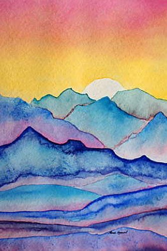 333x500 Watercolor Painting For Beginners Easy
