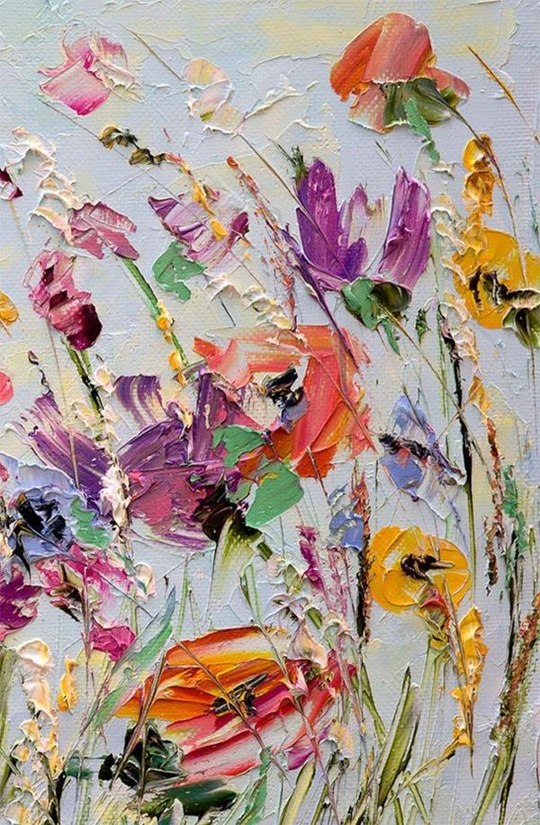 600x916 90 Easy Abstract Painting Ideas That Look Totally Awesome In 2018