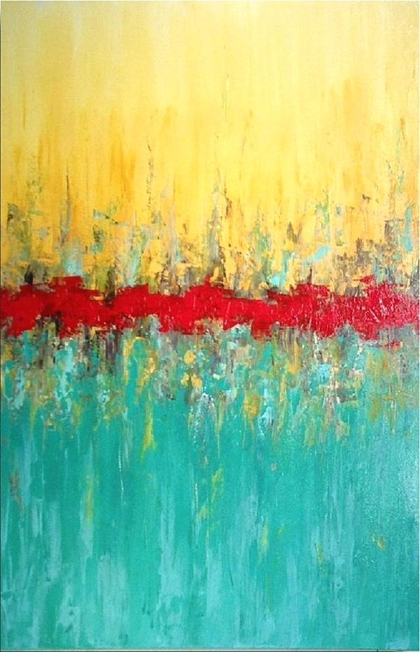 600x930 Abstract Painting Ideas 7 Abstract Painting Ideas Easy Acrylic