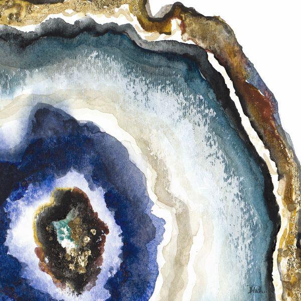 600x600 Up Close Agate Watercolor Ii Art Agate, Watercolor
