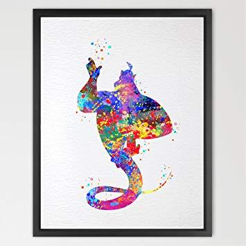 355x355 Dignovel Studios 8x10 Genie Aladdin Inspired Kids