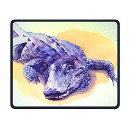 425x425 Readyybry Alligator Watercolor Comfortable Rectangle