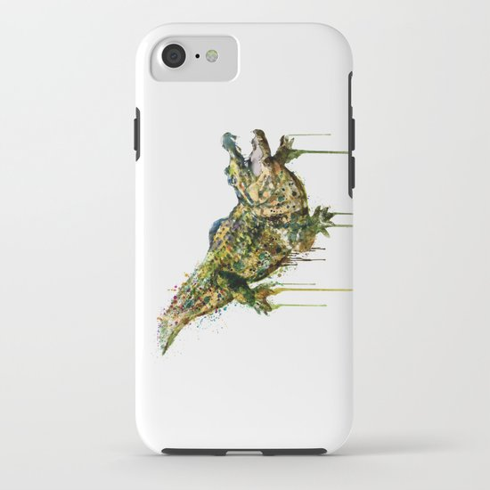 550x550 Alligator Watercolor Painting Iphone Case By Marianvoicu Society6