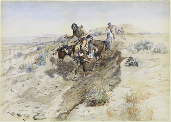 600x428 American Indians By American Artists Works On Paper From The