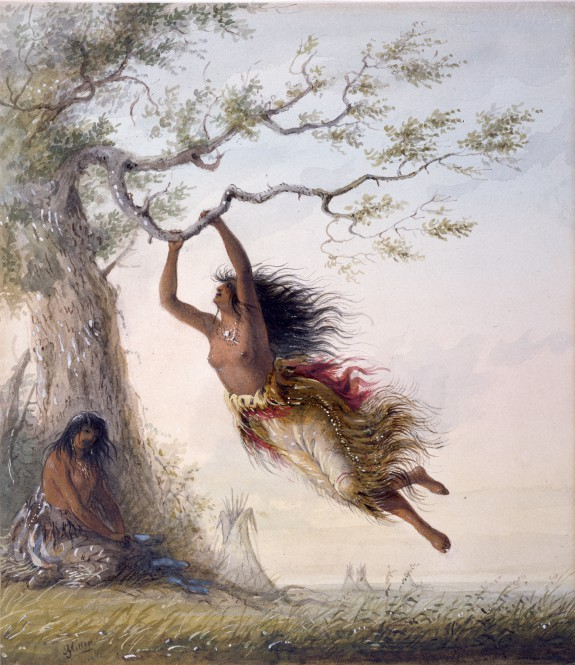 575x665 Indian Girls, Swinging The Walters Art Museum Works Of Art