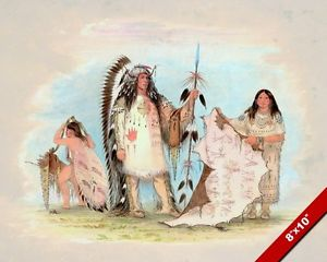 300x240 Native American Indian Chief Amp His Favorite Wife Painting Art Real
