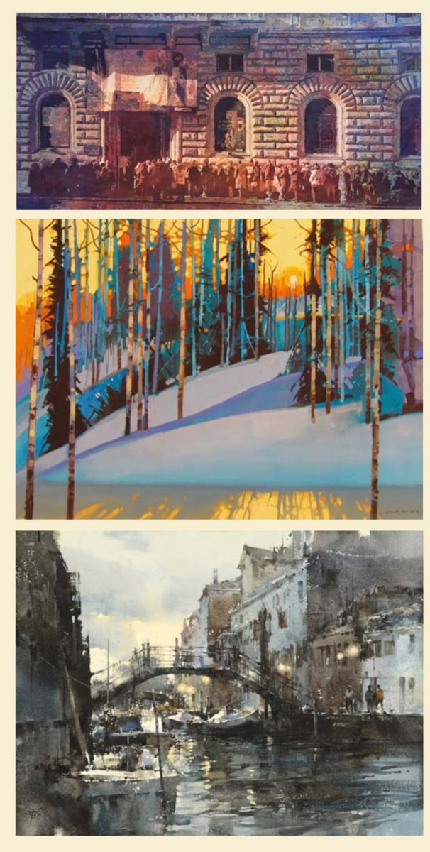 606x1200 American Watercolor Society Annual Exhibition