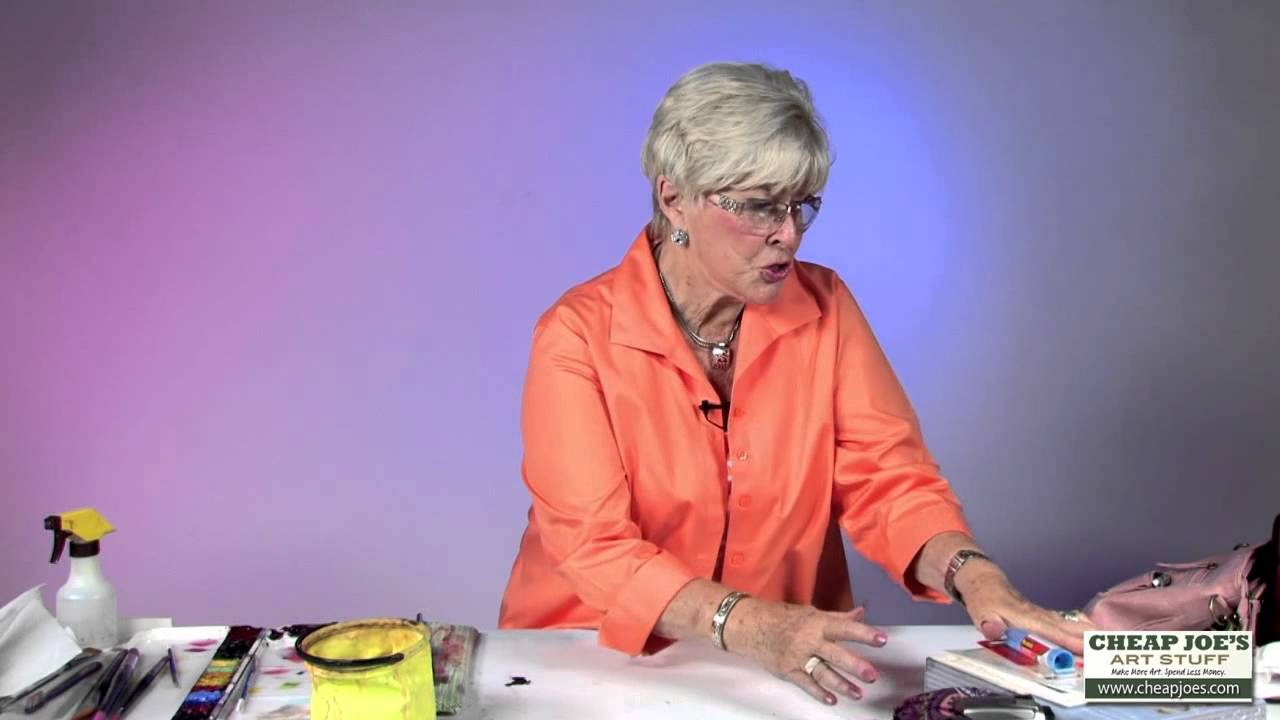 1280x720 How To Create Greeting Cards With Watercolor Artist Anne Abgott