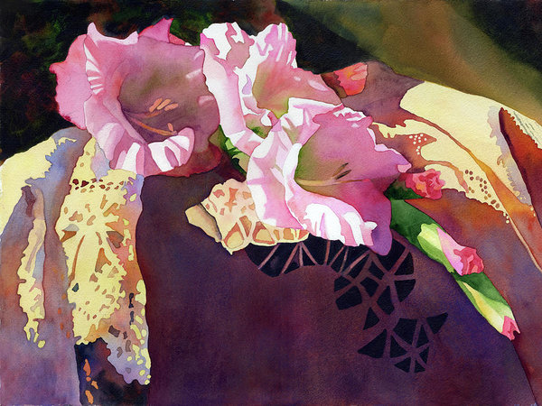 600x450 In The Pink Art Print By Anne Abgott