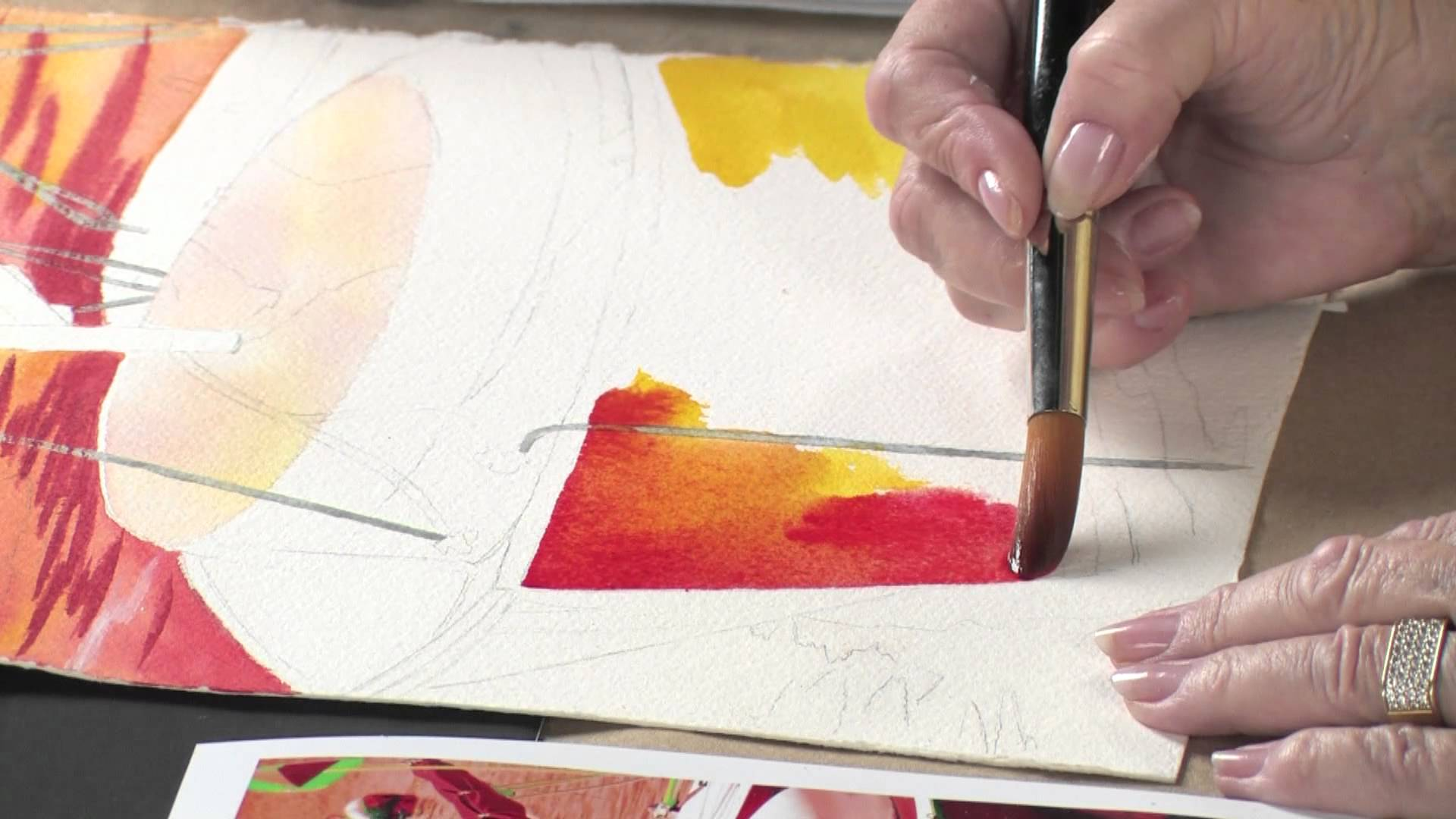 1920x1080 Preview Watercolor Techniques For Daring Color With Anne Abgott