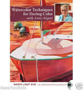 279x300 Watercolor Techniques For Daring Color With Anne Abgott [Dvd] Ebay