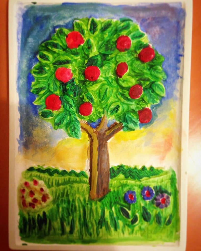 819x1024 Apple Tree,