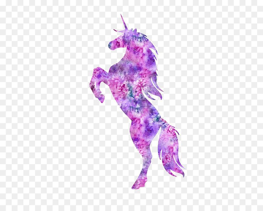 900x720 Ariel T Shirt Unicorn Watercolor Painting