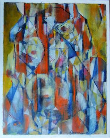 375x467 Saatchi Art Noli Me Tangere (Touch Me Not) Painting By Ariel Geronimo