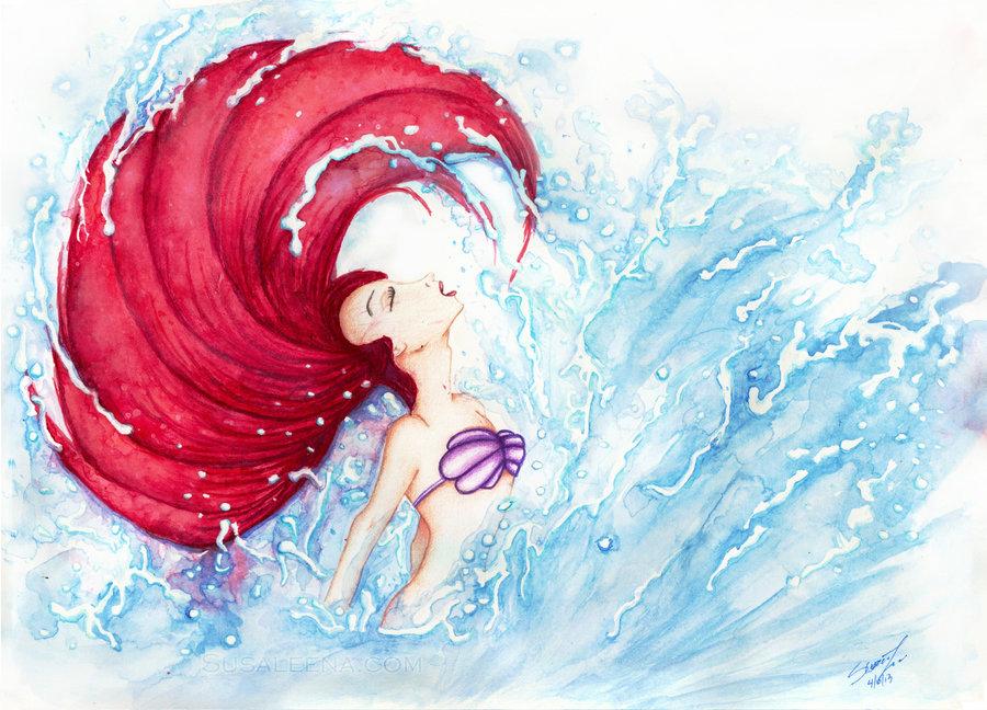 900x648 Ariel Becomes Human