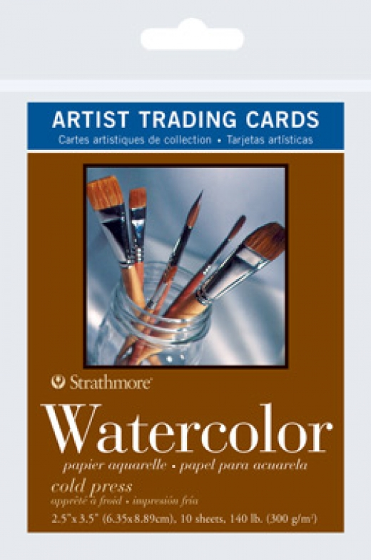 Artist Trading Cards Watercolor
