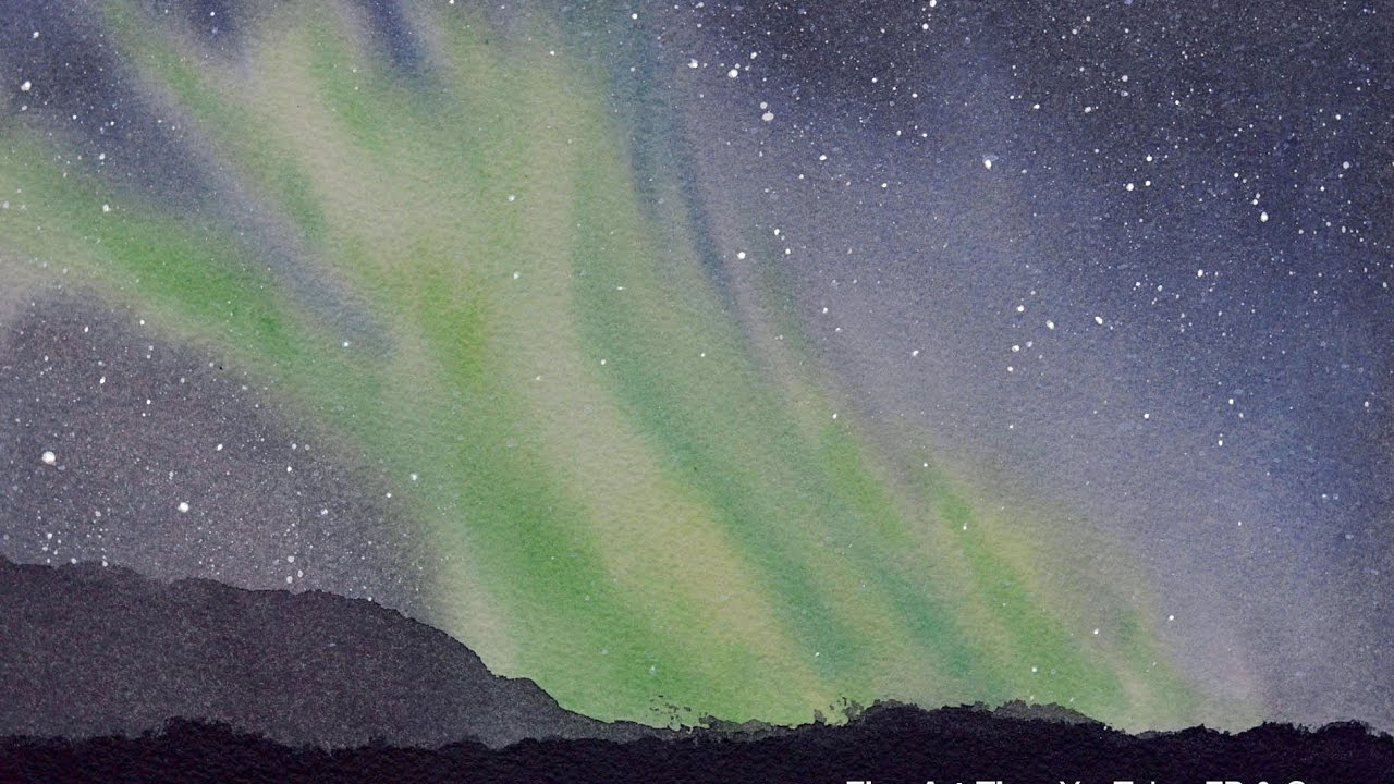 1280x720 How To Paint An Aurora Borealis