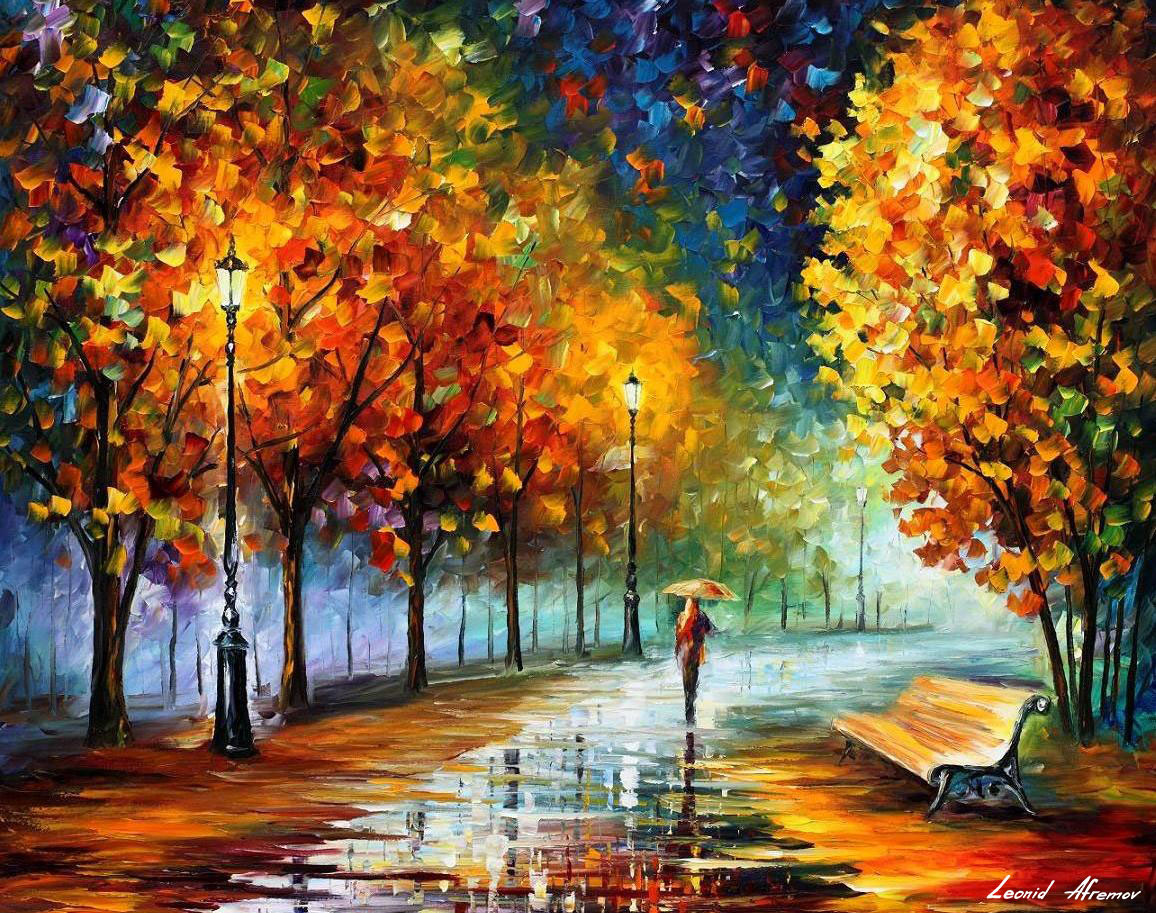 1156x913 Fall Marathon Of Nature Palette Knife Oil Painting On Canvas By
