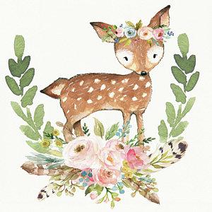 300x300 Baby Deer Art