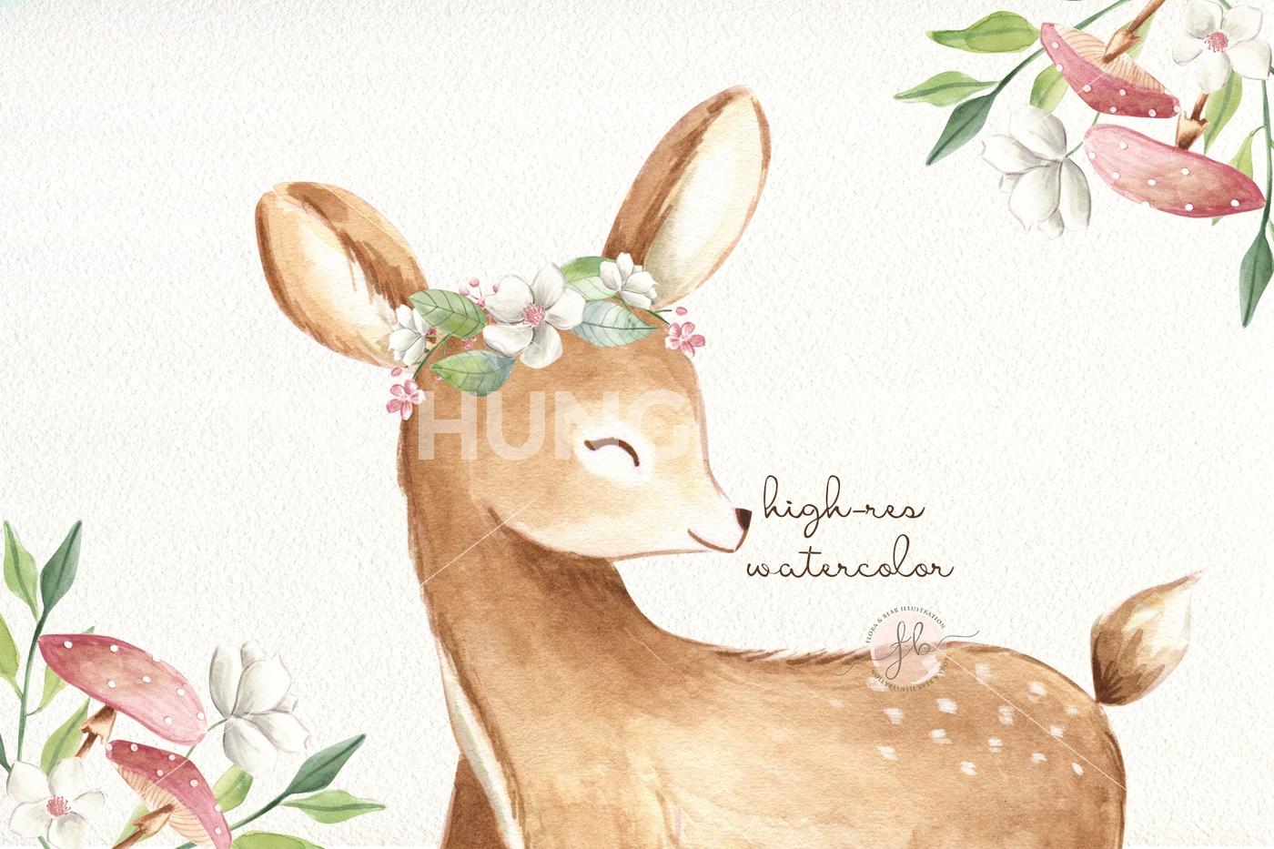 1400x933 Baby Deer I