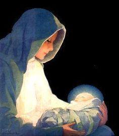 Baby Jesus Watercolor