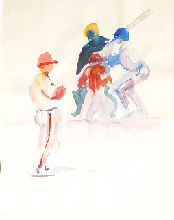 254x320 Chicago Cubs Photos Baseball Game Watercolor Paintings