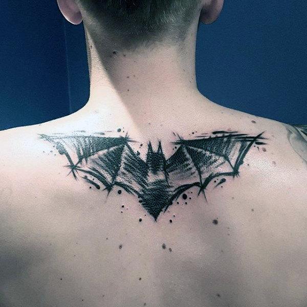 Batman Logo Watercolor