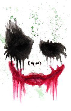 236x370 Batman Watercolor Print, Watercolor Painting, Watercolor Art