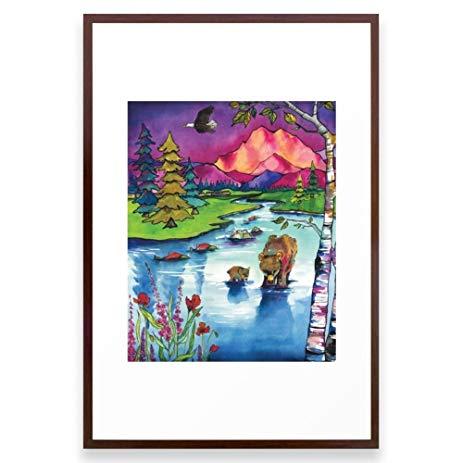 Bear Watercolor Painting