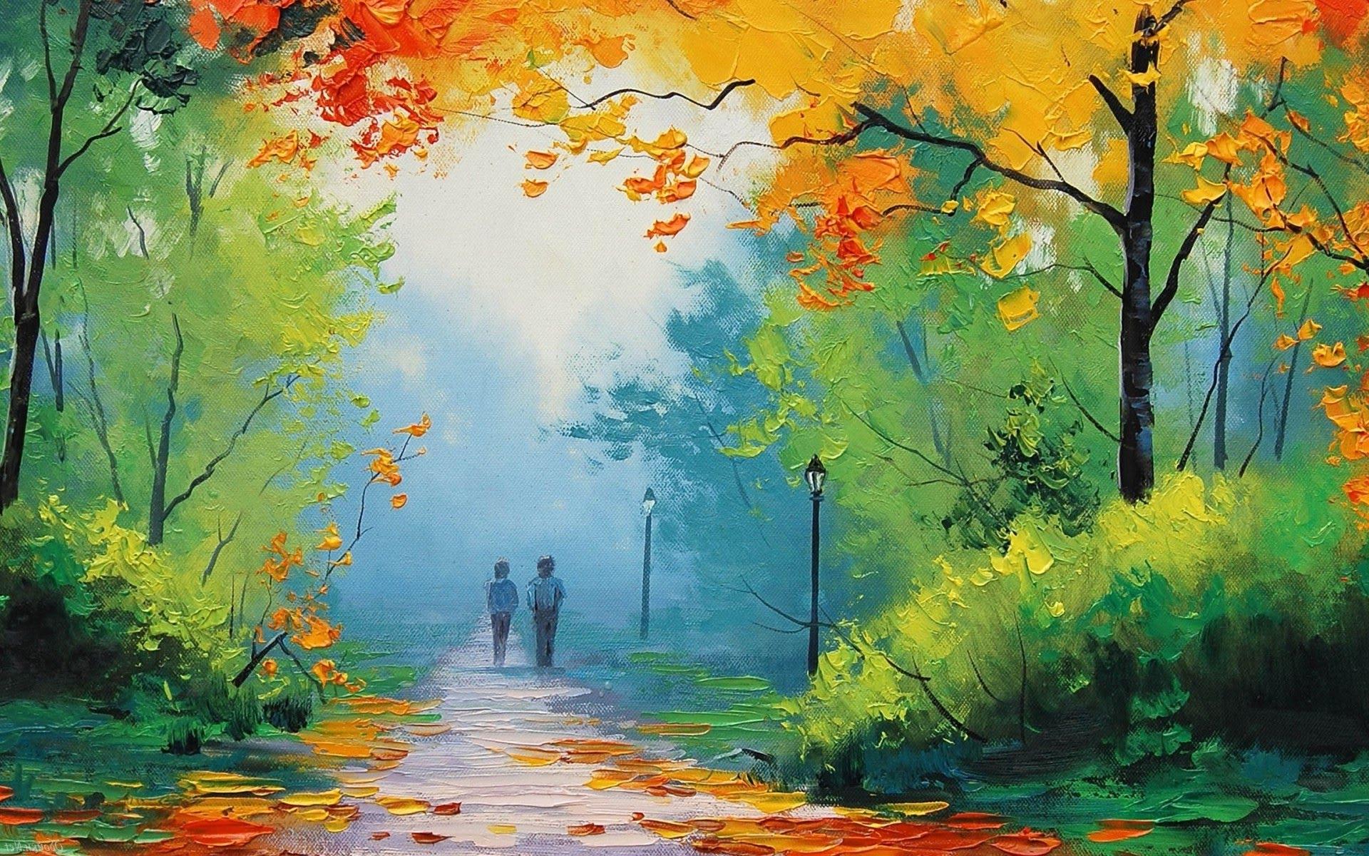 1920x1200 Beautiful Watercolor Paintings Of Nature Most Beautiful Nature