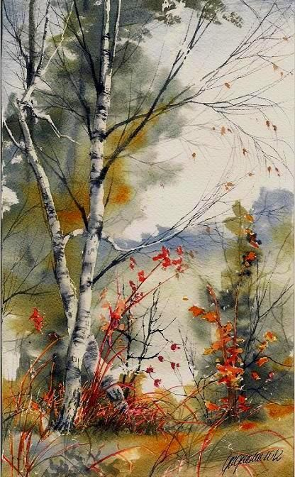 416x672 Beautiful Watercolor