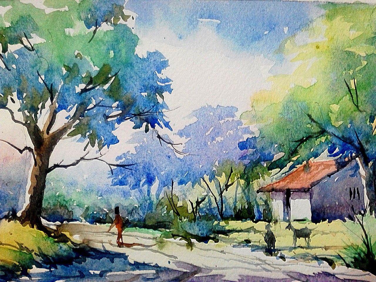 1280x960 Gallery Beautiful Watercolor Paintings Of Nature,