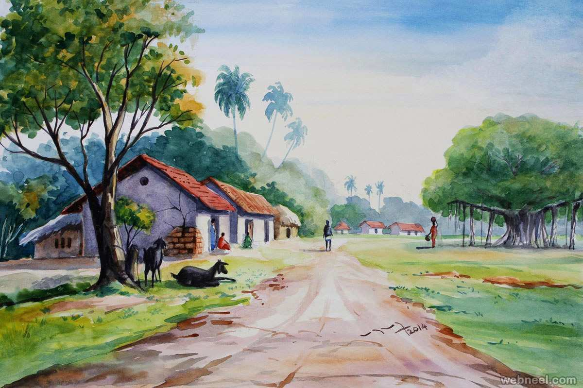 1200x799 Watercolour Paintings Luxury 25 Beautiful Watercolor Paintings By
