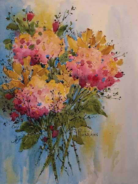 451x600 Artist Joyce Hicks, How To Paint Beautiful Watercolor Landscapes, Art