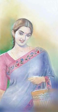 236x455 The 379 Best Indian Paintings Images In 2018 Woman