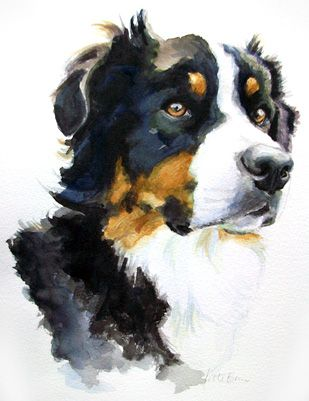 309x401 Watercolor Dog Dog Painting Ideas Watercolor