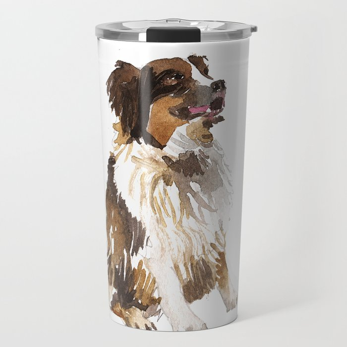 700x700 Watercolor Dog Vol 6 Bernese Mountain Dog Travel Mug By Takmaj