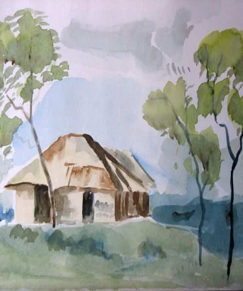 Best Watercolor Landscapes At Getdrawings Com Free For Personal