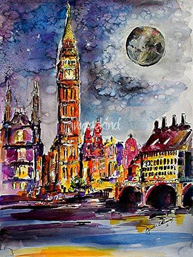 Big Ben Watercolor