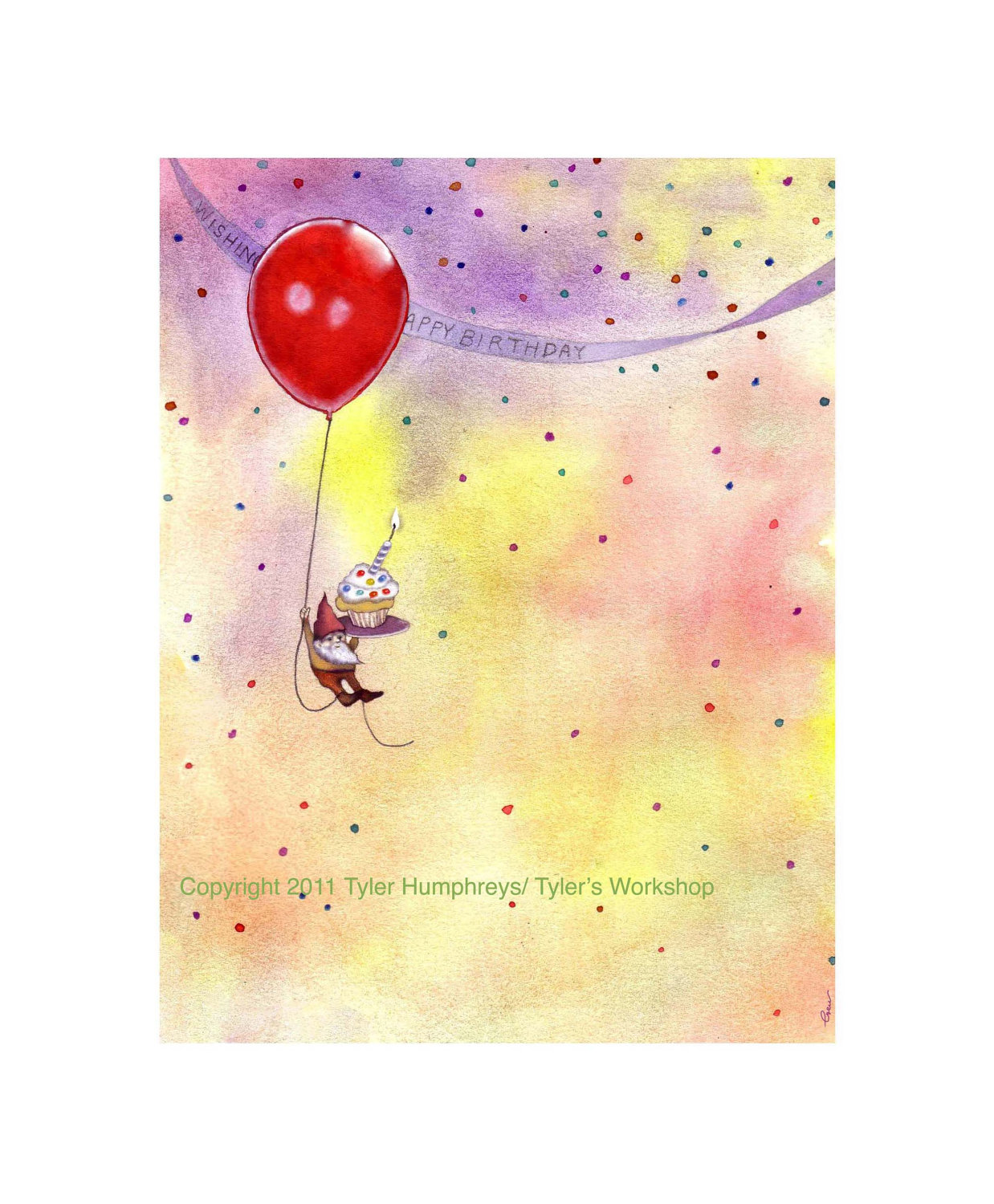 1238x1500 Watercolor Birthday Card Intended For Ucwords] Card Design Ideas