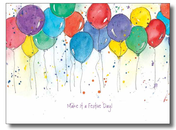 725x538 Birthday Balloons Words And Watercolors