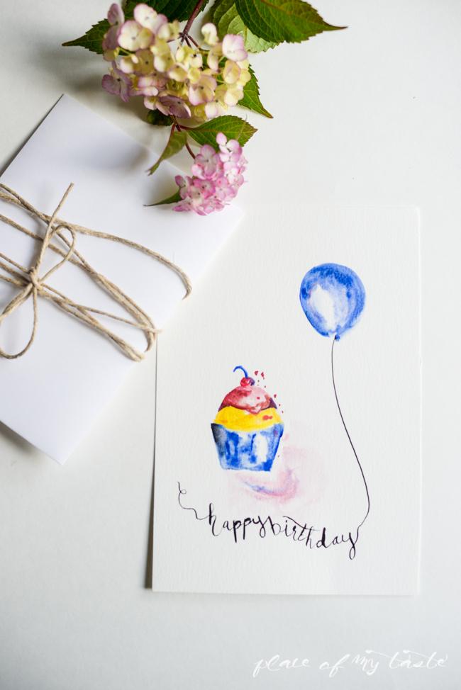 650x974 Free Watercolor Birthday Printables