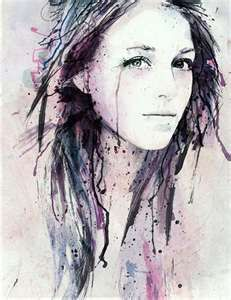231x300 492 Best Z Watercolor Portrait Images In 2018